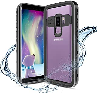 XBK Samsung Galaxy S9+ Plus Case, Waterproof Case with Built-in Screen Protector,Full-Body Rugged Resistant Protective Hard Cover Case for Galaxy S9 Plus (2018, 6.2inch)