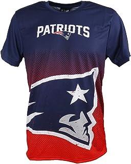 New Era T-Shirt der New England Patriots Modell NFL Gradient mit besonderem Farbverlauf für Damen und Herren