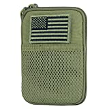 Condor Pocket Pouch/US Patch (Olive Drab, 7.25 x 5-Inch)