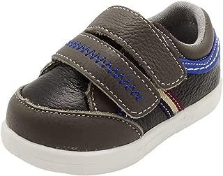 ShoBeautiful Soft Genuine Leather Toddler Girls Boys Unisex Sneaker Sports Shoes Slip On Walking Shoes(Toddler/Little Kid/Big Kid)
