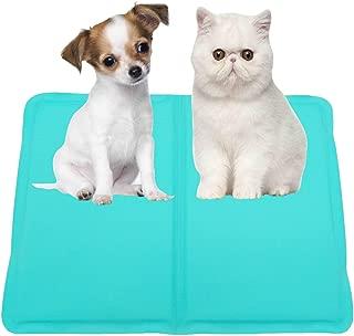 ペットクールマット ペット ひんやり マット 犬 猫 冷却マット 夏ペット用品 涼感 冷感マット 動物クール シート 冷えマット クールジェルマット 柔らかい 噛む予防 車用 冷却ジェルシート 水洗い可 熱中症暑さ対策 多用途 サイズ選択可 (30x40CM)