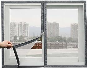 Raamscherm, anti-muggennet, insectenbescherming Netting Kattengordijn Insectenscherm met zelfklevende tape, eenvoudig te i...