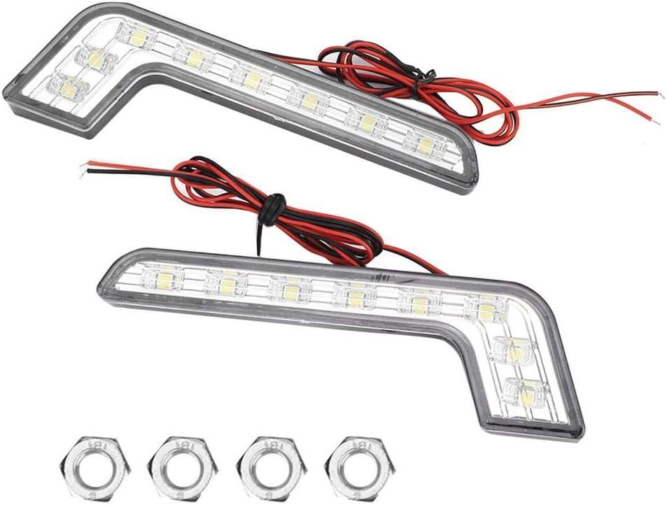 Akozon Free shipping / New Daytime Running Light Lamp Universal DRL Dallas Mall Waterproof 8-LED