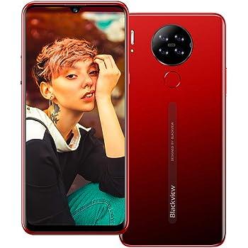 Blackview A80 4G Móviles 2020, Android 10 Smartphone Libres Face ID, 6,21 HD Display, 2GB +16GB, 4200mAh Batería Telefono Dual SIM, Móvil Libre 13MP + 8MP (EU Versión) Rojo: Amazon.es: Electrónica