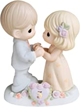 Precious Moments, I Fall In Love With You More Each Day - 5th Anniversary, Bisque Porcelain Figurine, 730006