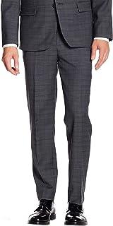 Ben Sherman Mens SP0 Whitton Flat Front Suit Separate Pant Suit Pants Separate - Gray
