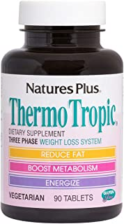 NaturesPlus Thermo Tropic - 100 mg Garcinia Cambogia, 90 Vegetarian Tablets - Weight Loss Support Supplement, Promotes Fat...