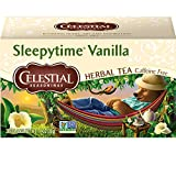 Celestial Seasonings Sleepytime Vanilla Herbal Tea, 20 Count