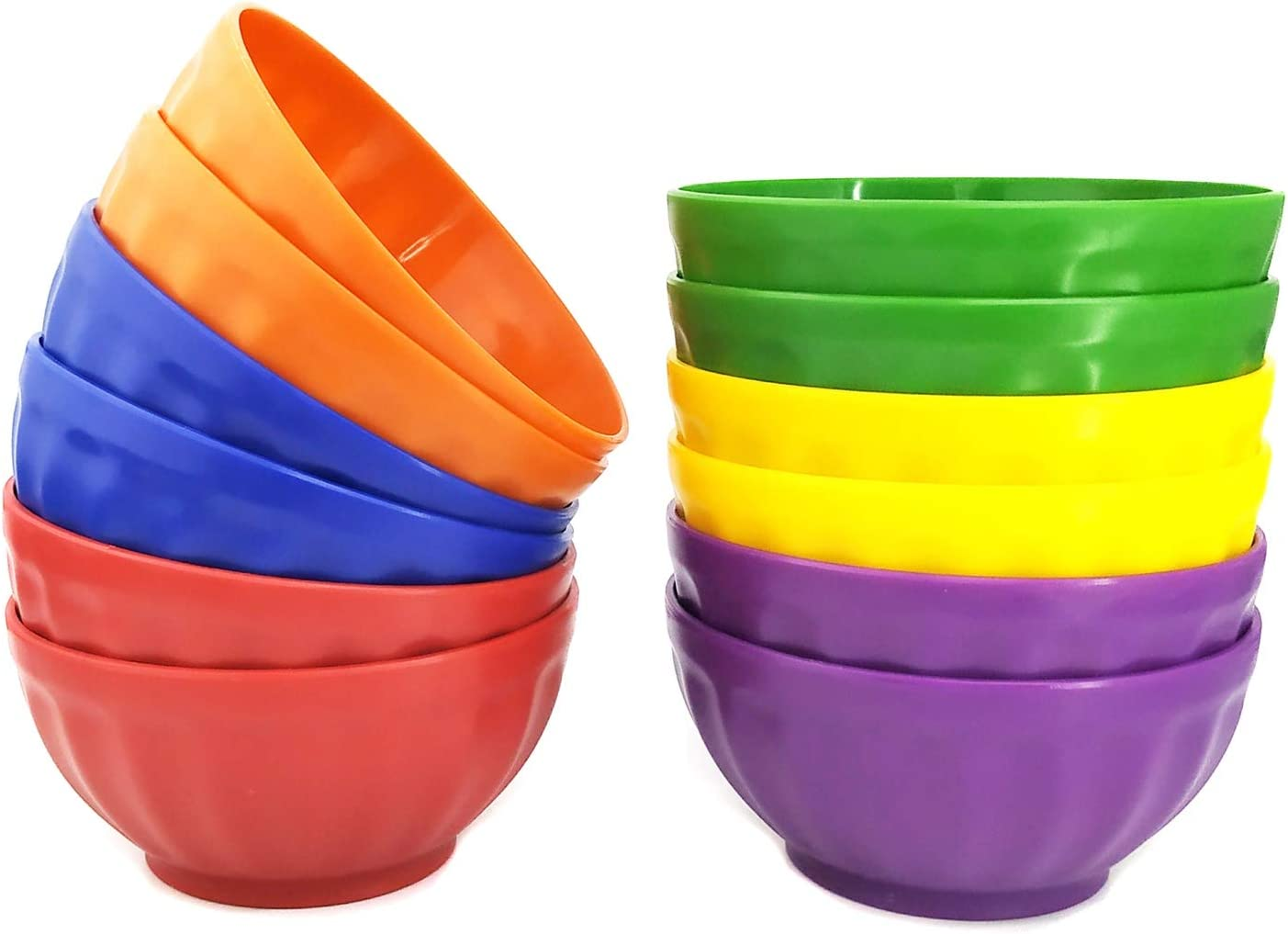 Unbreakable 28-ounce Plastic Free shipping anywhere in the nation Bowls Set Salad Spring new work one after another Cereal