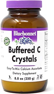 Bluebonnet Nutrition Buffered C Crystals, Buffered Vitamin C Powder, for Immune Health, for Antioxidant Protection, Soy Fr...
