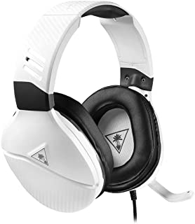 Turtle Beach Recon 200 White Amplified Gaming Headset - Xbox One, PS4, PS5, Nintendo Switch & PC