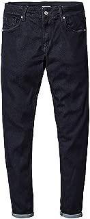 Pursuit-of-self 2019 Spring New Jeans Men Skinny Biker Jeans Denim Overalls Men