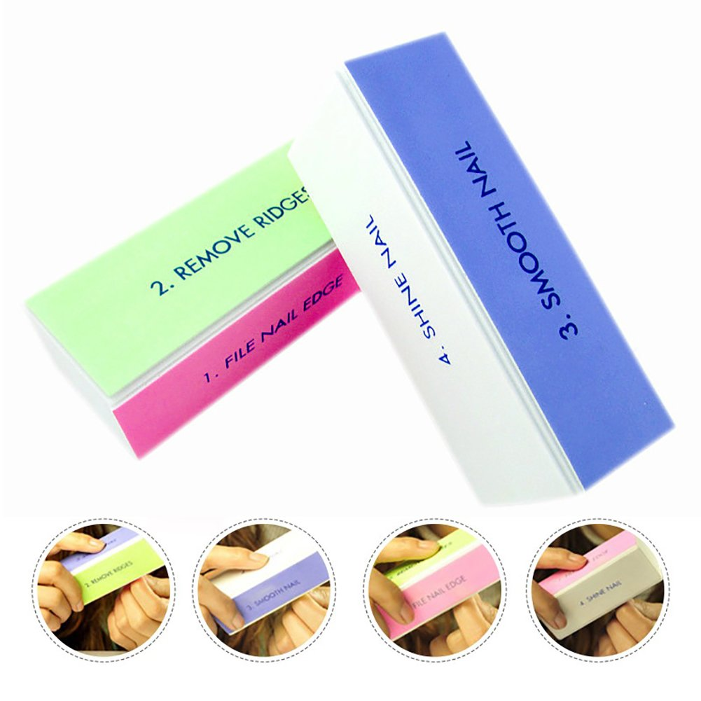 Nail Buffer Block 4 in 25% OFF Sanding 6p Files Buffing 1