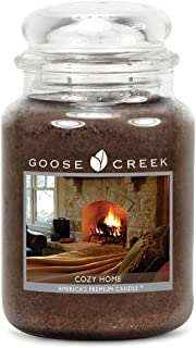 Goose Creek Candles Cozy Home Scented Essential Jar Candle, Top Quality Great Fragrance, 24 oz