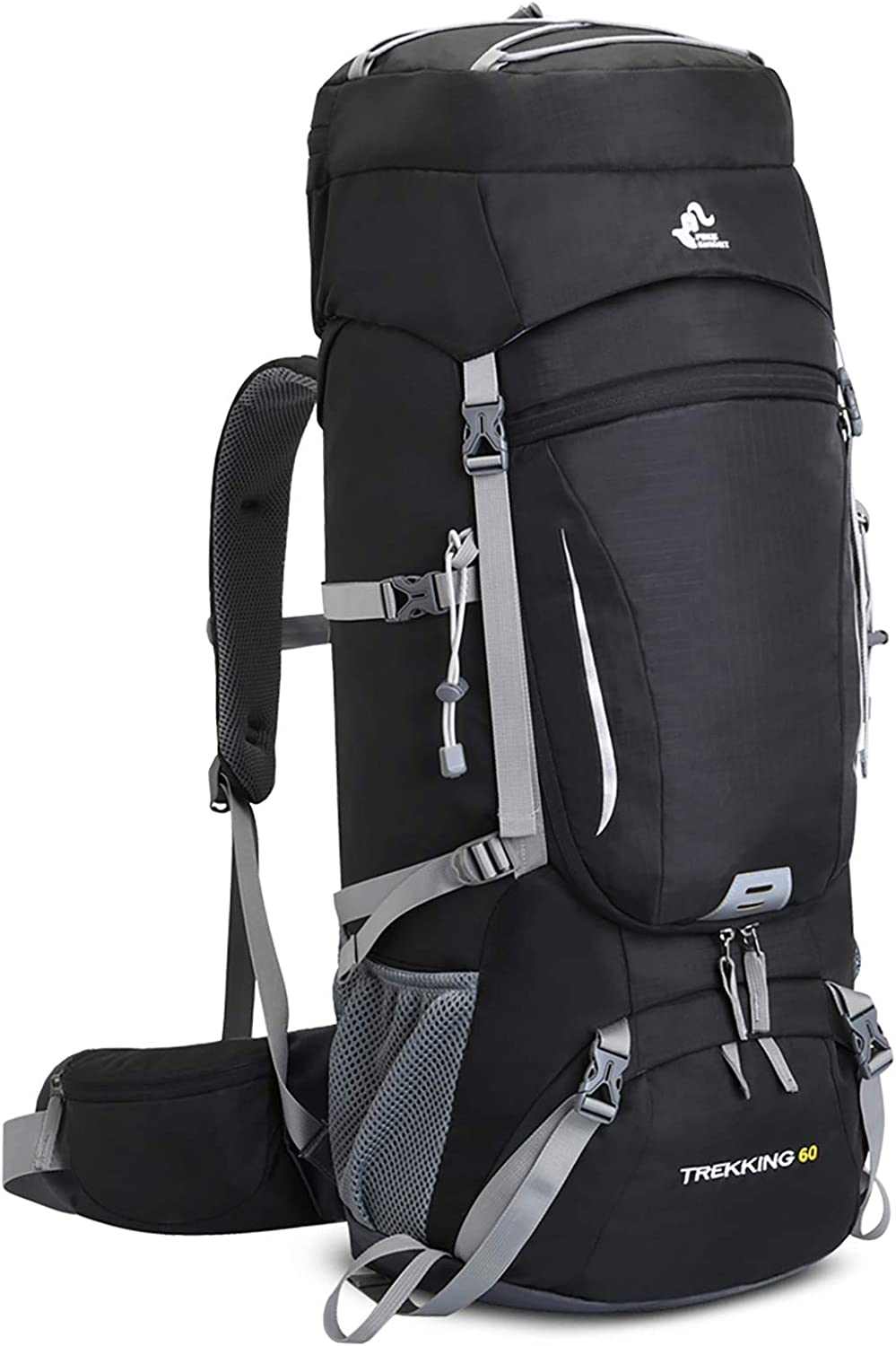 60-65L Waterproof At the price Lightweight Hiking Backpack with Cover Selling and selling Rain Ou