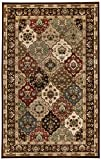 SUPERIOR Palmyra 5' x 8' Area Rug, Contemporary Living Room & Bedroom Area Rug, Anti-Static and Water-Repellent for Residential or Commercial use