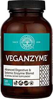 Global Healing Veganzyme - Advanced Natural Vegan Digestive & Systemic Enzyme Supplement for Healthy Digestion, Immune Sys...