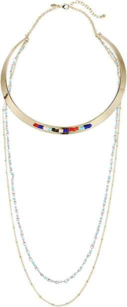Louisa Layered Collar Necklace