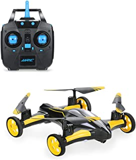 AHAHOO RC Flying Cars 2.4Ghz Remote Control Quadcopter 6CH RC Drone 3D Flips Land and Sky Double Modes with LED Light