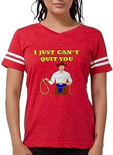 Brokeback Mountain - I Just Can't Quit You T-Shirt - Womens Football Shirt