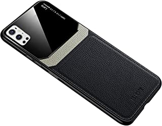 Case Cover Compatible with Oneplus 9 Pro Case Soft Leather Phone Silicone Cover Glass Protection Compatible with One plus9...