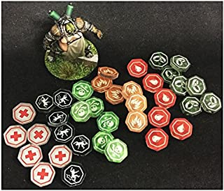 Muse On MOM1216 Guild Ball Status Effect Tokens