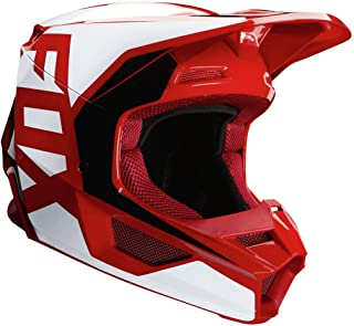 2020 Fox Racing V1 Prix Helmet-Flame Red-L