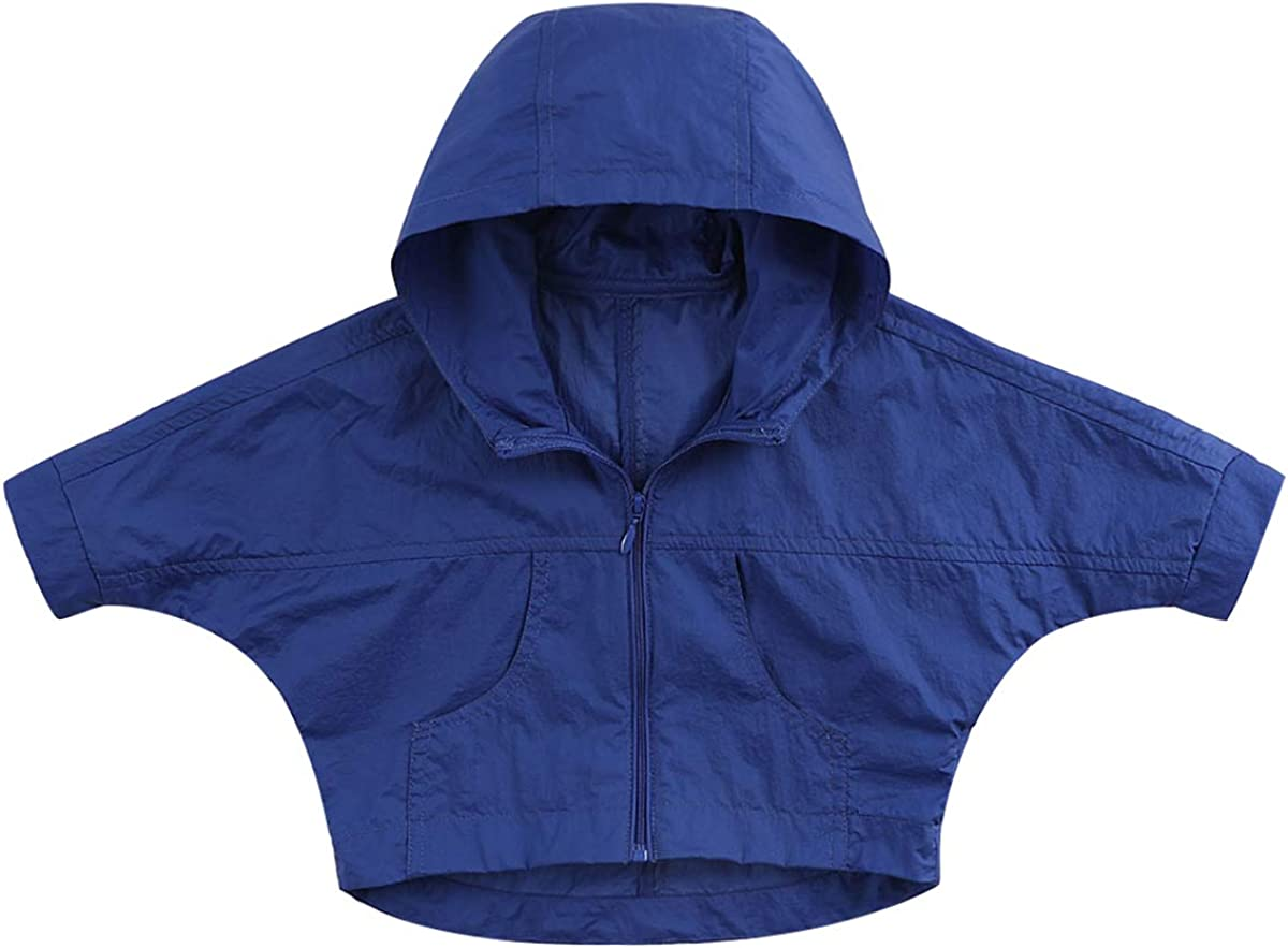 marc janie Boys Girls Kids Sun Protective Hooded Capes Poncho - UPF 50+