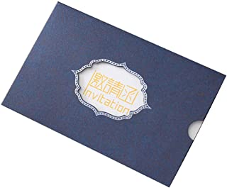 25 Pack Formal Invitation Cards for Birthday Dinner Party Business Greeting Cards, Blue