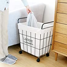 Room Service Cart Laundry Tool Cart Laundry basket Laundry basket Dirty hamper Dirty clothes storage basket Dirty clothes ...