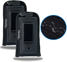 Creatrill 2 PACK Pistol Magazine Holsters   Inside The Waistband IWB Tactical Mag Holder   Concealment Single Double Stack Mag Pouch for 9mm/.40 cal/380