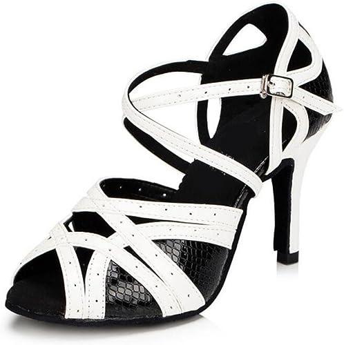 schuhe de damen PU Ballroom Taogo latino Hausschuhe de baile Sandalias Größe 36 a 41