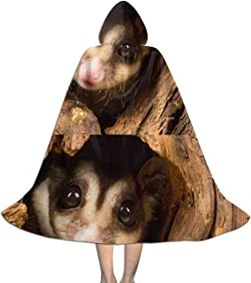 TeenDN Kids Baby Possum Costumes Capes Cloak with Hood for Halloween Party