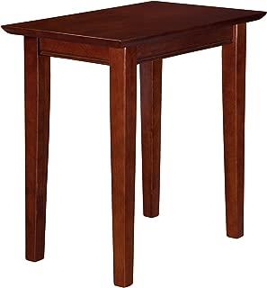 Atlantic Furniture Shaker Chair Side Table, Walnut, (22