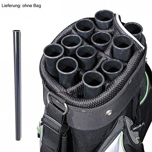 10 x bolsa tubo - pelota golf tubo - bolsa golf de-tubos