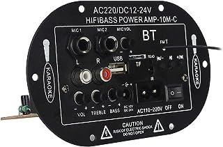 """gazechimp SF-2MIC 8""""/ 10"""" Alto-falante Bluetooth Amplificador Placa USB Rádio FM TF"""
