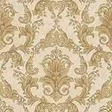 Papier peint baroque Tapisserie baroque Papier peint intissé Or 962155 | Papier peint pas cher