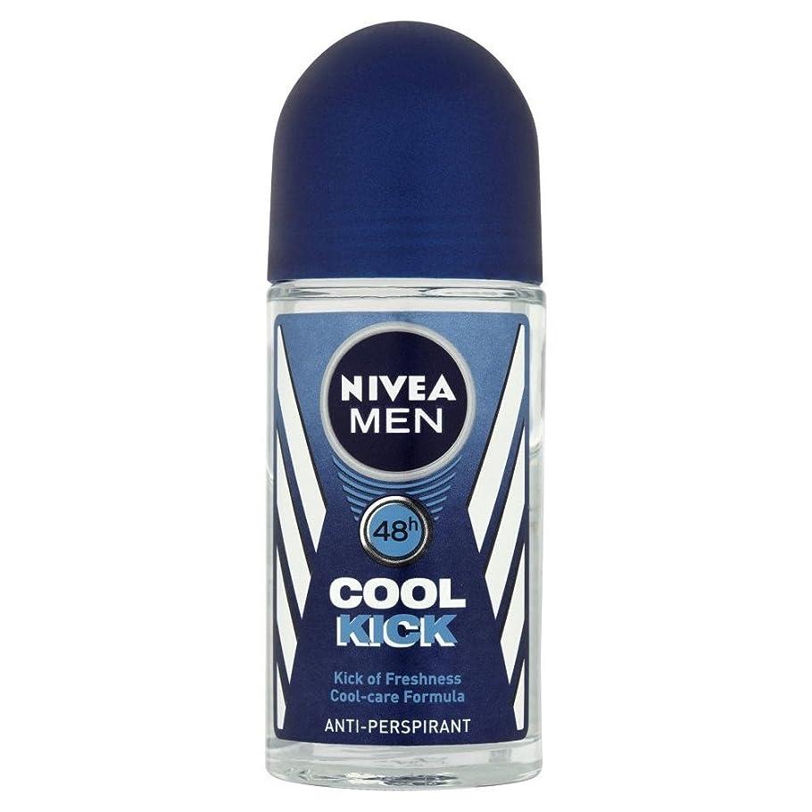 可塑性アセンブリ専門Nivea Men Cool Kick Anti-Perspirant Roll-On (50ml) ニベアの男性がキック冷却制汗ロールオン( 50ミリリットル) [並行輸入品]