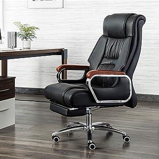 Renovatiehuis Executive bureaustoel met hoge rugleuning Ergonomische gaming-draaistoel Comfortabel bureau Computerstoelen ...