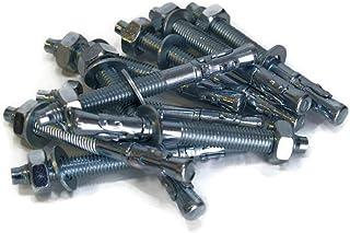 5x M16 x 315mm Schwerlastanker Verzinkt Metalld/übel Bolzenanker Blitzd/übel