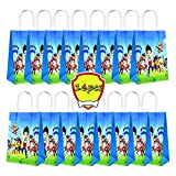 [16pcs]Paw Patrol Birthday Party Candy Gift Bags Candy Gift Boxes Storage Bags Gift Bags Party Decoration Supplies For Boys And Girls.