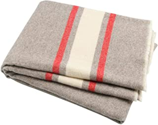 Winthome Luxury Extra Soft Wool Blanket Throw, Suitable for Sofa,Chair or Bed,51inch x 66.5inch