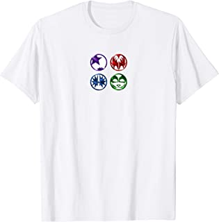 KISS - Cartoon Metallic Logo T-Shirt
