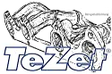 TeZet Fächerkrümmer - Nr. 12 C08 K00 - Leistungssteigerung für Serien- oder Sportauspuff