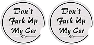 SICOHOME Funny Car Coasters, Absorbent, 2.56