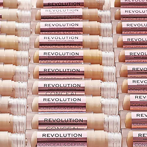 Makeup Revolution Revolution Conceal & Define Concealer C9.5, C9.5, 3.4 ml