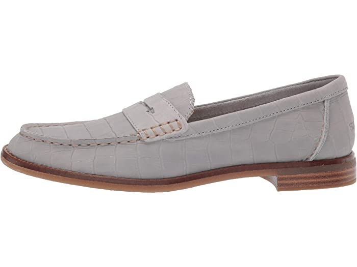 Sperry Seaport Penny Croc Grey