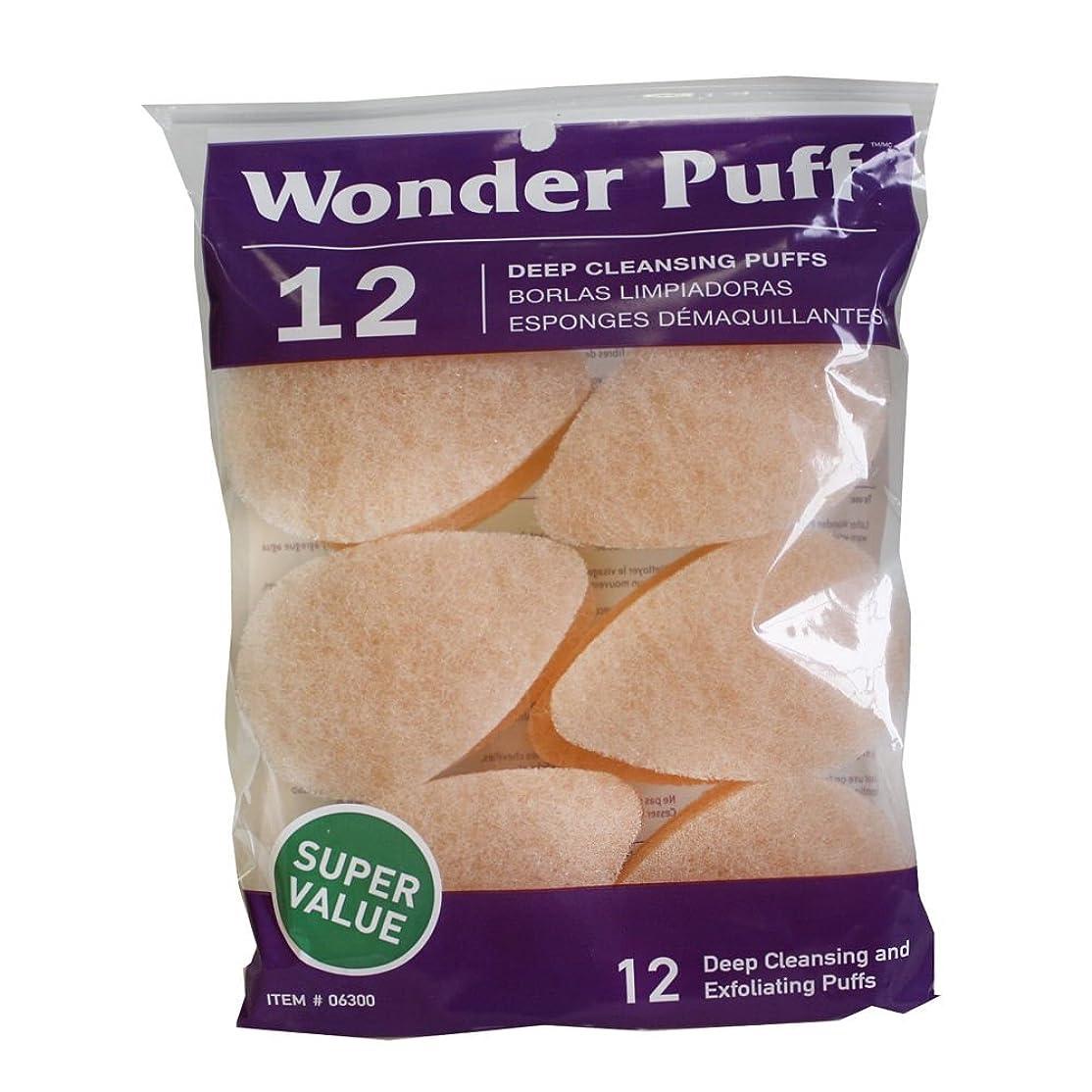 バンド天気勝利Wonder Puff Deep Cleansing Puffs 12's (並行輸入品)