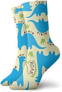 Be-ryl, Adorable patrón sin Costuras para niños con Calcetines Deportivos atléticos Dinosaurspng