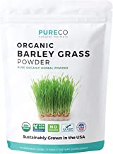 USDA Organic Barley Grass Powder (8 oz) - USA Grown - Vegan Superfood Supplement Perfect for Juice or Smoothie - Rich in A...
